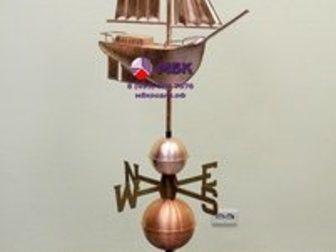 Смотреть фото Ландшафтный дизайн Садовые флюгеры, Декор для сада, 32810428 в Москве