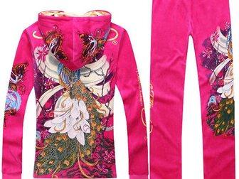Просмотреть foto Женская одежда Спортивный костюм ED Hardy Peacock 32874919 в Москве