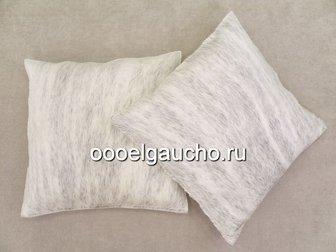 Новое изображение Другие предметы интерьера Декоративные подушки из шкур коров, лисы и чернобурки 32883428 в Москве