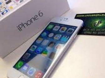Увидеть фотографию Телефоны Apple iPhone 6 128Гб разблокирована сотовый телефон 32927323 в Москве