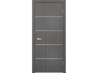 Скачать бесплатно изображение  Межкомнатная дверь Кредо, Модерн, ПДГ 103 дуб седой, 32956857 в Москве
