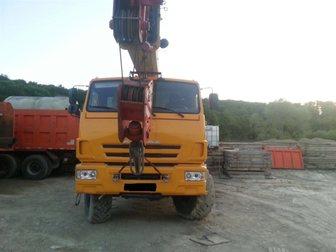 Новое фото  Продам автокран Галичанин КС-55713 32992220 в Краснодаре