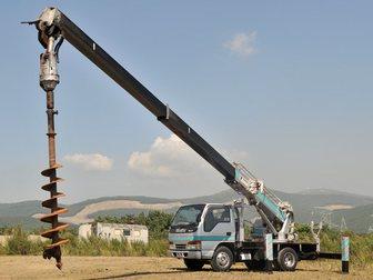 Скачать бесплатно фотографию  Услуги бурильно-крановой машины (Ямобур) 33008761 в Москве