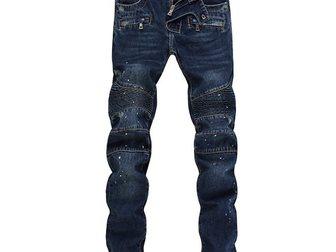 Уникальное фотографию Мужская одежда Джинсы Pierre Balmain 33081200 в Москве
