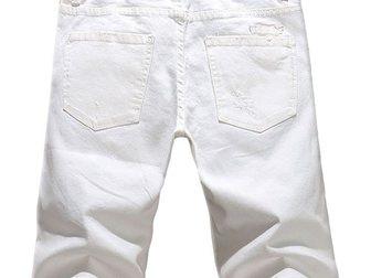 Уникальное фотографию Мужская одежда Джинсовые шорты Philipp Plein 33105111 в Москве