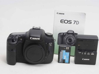 Скачать изображение  Canon EOS 7D 18MP DSLR Camera Body 33268976 в Москве