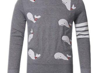 Просмотреть фотографию Мужская одежда Мужской полувер Thom Browne Dolphins 33274234 в Москве