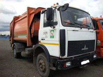 Смотреть foto  Купить б у мусоровоз МКЗ-3402 на шасси МАЗ-5337А2, 2012 год выпуска, в полностью исправном техническом состоянии 33308688 в Москве