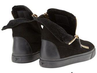 Свежее фотографию Мужская обувь Зимние ботинки на меху Giuseppe Zanotti 33334923 в Москве