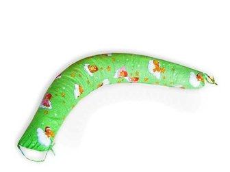 Увидеть фото  Подушка для беременных и кормления в форме Бумеранга размер 190х35 см, 33360144 в Москве