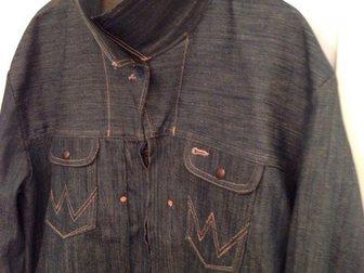 Свежее foto Мужская одежда Джинсовка Wrangler XL(50-52) 33605036 в Москве