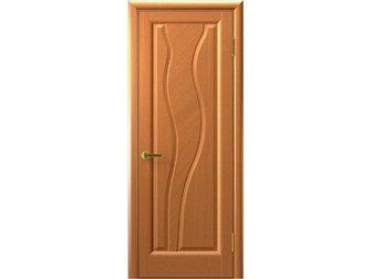 Просмотреть фото  Межкомнатная дверь фабрики Современные двери, Торнадо, светлый анегри, ПГ, 33686640 в Москве