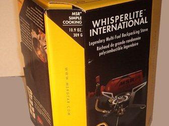 Свежее фотографию Товары для туризма и отдыха Многотопливная горелка MSR WhisperLite International 33759124 в Москве