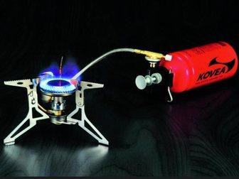 Увидеть foto Товары для туризма и отдыха Мультитопливная горелка Kovea Dual Max (газ, бензин) 33759154 в Москве