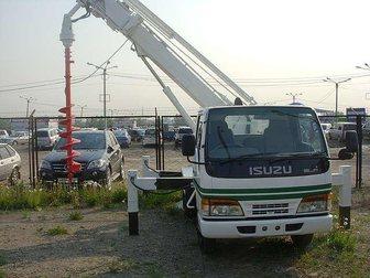 Увидеть изображение  Ямобур Isuzu ELF ( услуги по бурению БКМ) 33811880 в Москве