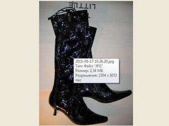 Смотреть фотографию Женская обувь Продаю сапожки в стиле Винтаж 38 р. кожа 33857096 в Москве