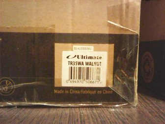 Новое фото Аудиотехника новая ultimate tr-35 walnut 33907070 в Серпухове