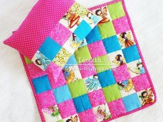 Новое фотографию  Буквы-подушки, лоскутные одеяла, текстильные игрушки и декор 33913834 в Москве