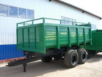 Уникальное фотографию Прицеп Полуприцеп тракторный ППТС-10 34026519 в Москве