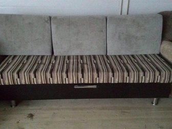 Просмотреть изображение Мягкая мебель диван раскладной, б/у с доставкой 34065806 в Москве