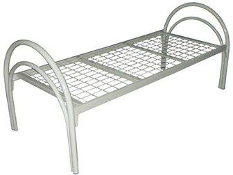 Уникальное foto Мебель для спальни Кровати металлические двухьярусная, для больниц, металлические кровати с ДСП спинками, кровати для бытовок, кровати оптом, От производителя, 34084754 в Ижевске