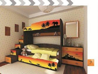 Уникальное фото  Модульная мебель Африка тёмная 34128223 в Москве