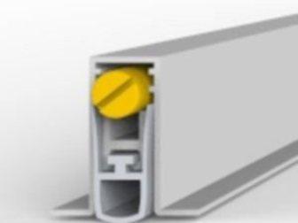 Новое фотографию  Звукоизоляционный автоматический порог Sipam, модель 101SF, Эстетичный внешний вид не затронет дизайнерских решений, Пороги подходят для всех видов напольного 34228881 в Москве