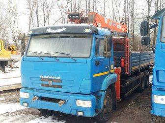 Новое foto  КамАЗ-65117 с КМУ Kanglim KS1256G-II 34231052 в Москве