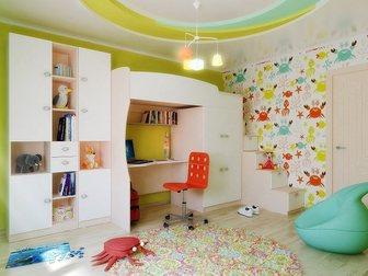 Свежее изображение  Мебель для детской Лада Белая Шагрень 34238151 в Москве