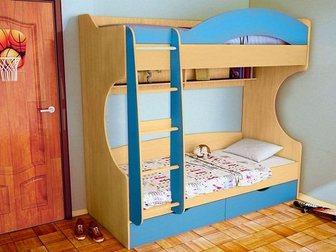 Просмотреть фотографию  Двухъярусная кровать Облачко 4 34268946 в Москве