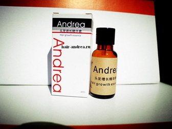 Скачать бесплатно foto  Средство против выпадения волос и укрепления Andrea Hair Growth Essense 34455699 в Новосибирске