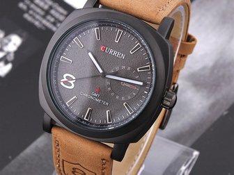 Новое foto  Часы Curren 8139 (черный циферблат) 34664691 в Москве