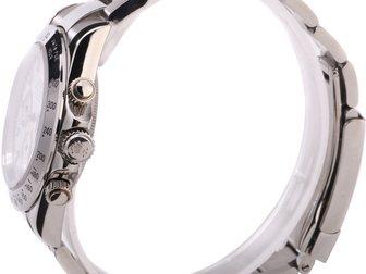 Увидеть изображение  Часы Rolex Daytona серебряные, белый циферблат 34671942 в Москве