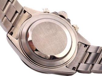 Скачать бесплатно изображение  Часы Rolex Daytona серебряные, белый циферблат 34671942 в Москве