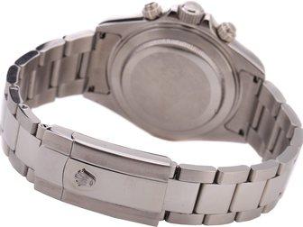 Просмотреть фото  Часы Rolex Daytona серебряные, белый циферблат 34671942 в Москве
