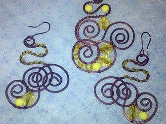 Скачать бесплатно foto Женская одежда Продаю комплект кулон + серьги 34838540 в Москве
