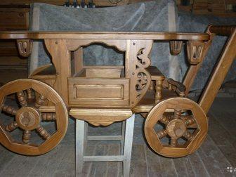 Свежее фото Мебель для гостиной Карета-журнальный столик 34869370 в Москве
