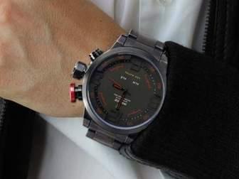 Увидеть фотографию  Спортивные часы Weide Sport Watch, Владимир 35092562 в Москве
