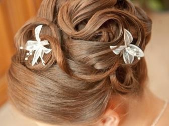 Скачать фото  Свадебные прически, макияж, Бесплатный выезд, 35659241 в Москве