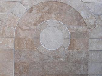 Уникальное фотографию  Облицовочные плитки из природного камня травертин 36467324 в Москве