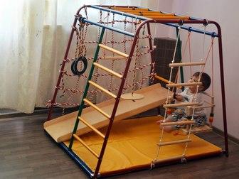 Просмотреть фото  Детский Спортивный Комплекс Весёлый малыш 36598252 в Москве