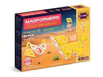 Уникальное фото Детские игрушки Magformers My First Sand World set 37348702 в Москве