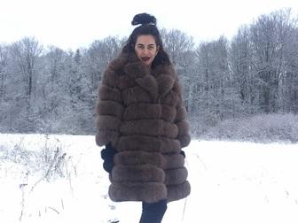 Новое фото  Шубы и жилетки из песца низка цена 37708383 в Москве