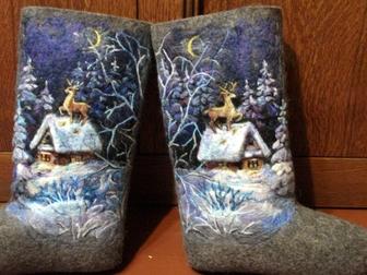 Скачать бесплатно фотографию Женская обувь валенки 38345695 в Чебоксарах