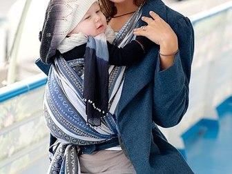 Новое фотографию  Слинги, эрго рюкзаки, одежда для беременных и кормящих мам, детская одежда, 38845546 в Москве