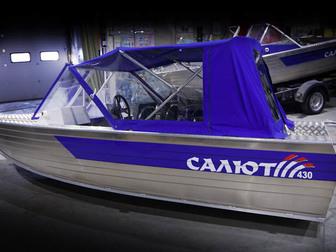 Свежее foto  Купить лодку (катер) Салют-430 Scout 38872566 в Петрозаводске