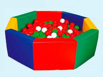 Скачать бесплатно фото  Мягкие модули для детских садов 39258253 в Москве