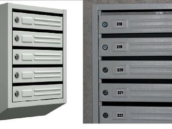 Скачать foto  Почтовые ящики секционные Классические 39322490 в Владимире