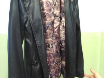 Уникальное изображение  Хорошая кожаная куртка хорошая цена! 39883781 в Новосибирске