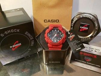 Уникальное фото  Оригинальные Брендовые Часы Casio G-Shock 40256593 в Москве